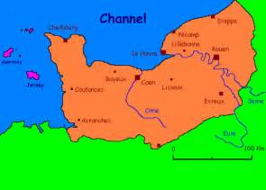 Normandy France Map by Normandy Familypedia Fandom Powered By Wikia