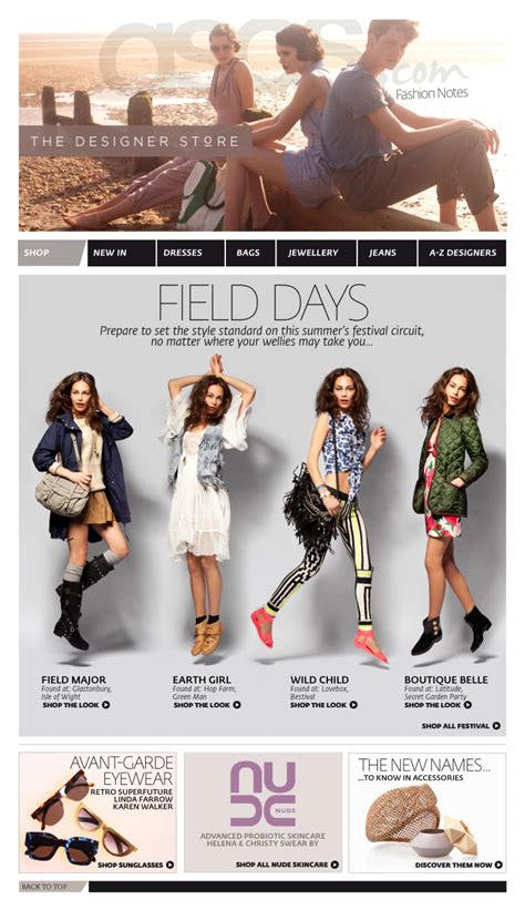 17 best images about fashion email newsletters on other stories farrow and email newsletters wood