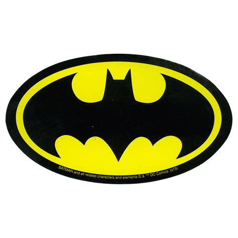 Batman Stickers batman logo sticker liquid blue