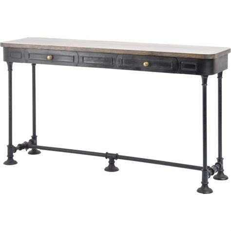long narrow table with drawers narrow console table with drawers decorative table