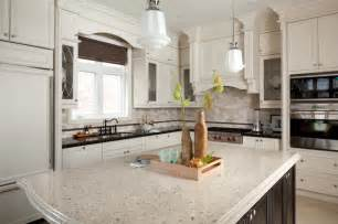 Latest Kitchen Backsplash Trends Cambria Darlington Wellington Kitchen Traditional