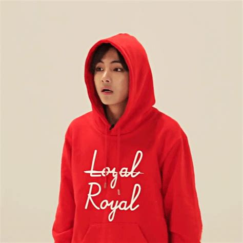 Jaket Hoodie Loyal Royal quot reactions quot kpop bts and gifs
