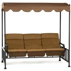mika ridge glider swing with cushion canopy unassigned