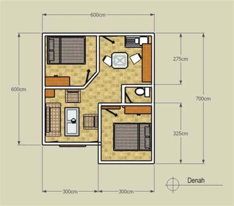 desain mushola ukuran 6x6 dapatkan gambar desain dan denah rumah minimalis type 36