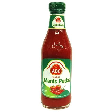 Saus Sambal Red1 135 Ml hypermart abc sambal manis pedas 335ml
