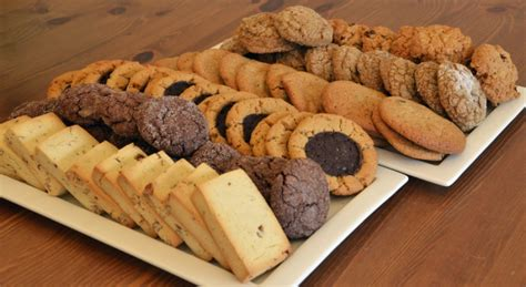 Cookies For All a selection of cookies menu lemonade gluten free bakery vancouver