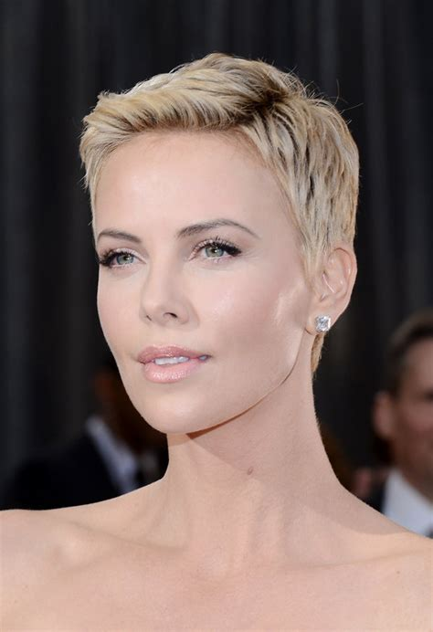 Eyeshadow Pixy No 1 19 times charlize theron inspired us to cut our hair huffpost
