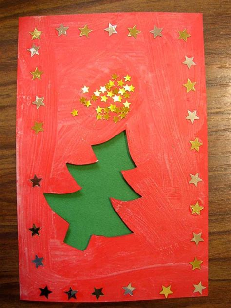 christmas cards arts and crafts