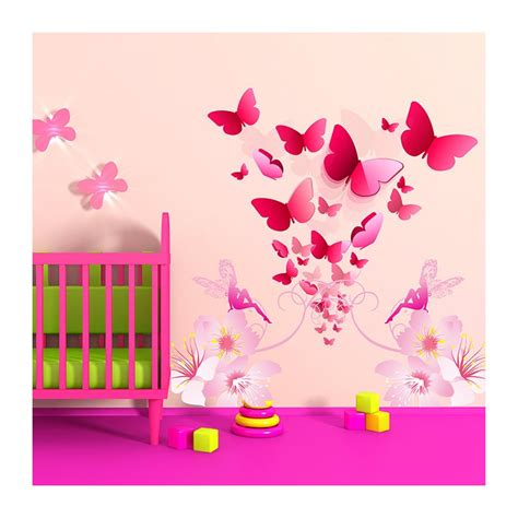Stickers Bebe Chambre by Stickers Chambre B 233 B 233 Floril 232 Ge De Papillons Enchanteurs