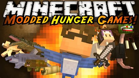 hunger games mod in minecraft minecraft modded hunger games morph mod youtube