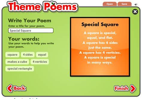 theme poem maker zig s kids theme poems