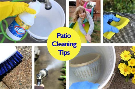 Patio Cleaning Tips by Wrap As Insulation For Windows