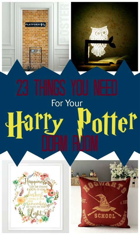 things you need for a room 23 things you need for a magical harry potter room