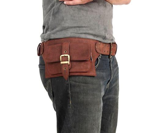 2 pocket s leather belt bag shovava leather shop