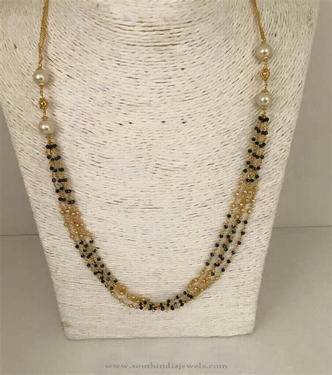 gold black chain designs top 15 mangalsutra chain designs styles at