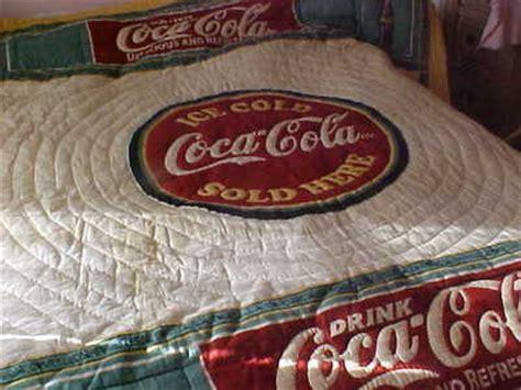 coca cola comforter coca cola collectibles hq price guide