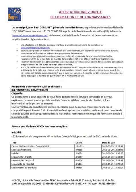 certificat de formation professionnelle en ligne