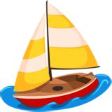 sailing boat emoji sailboat emoji on messenger 1 0