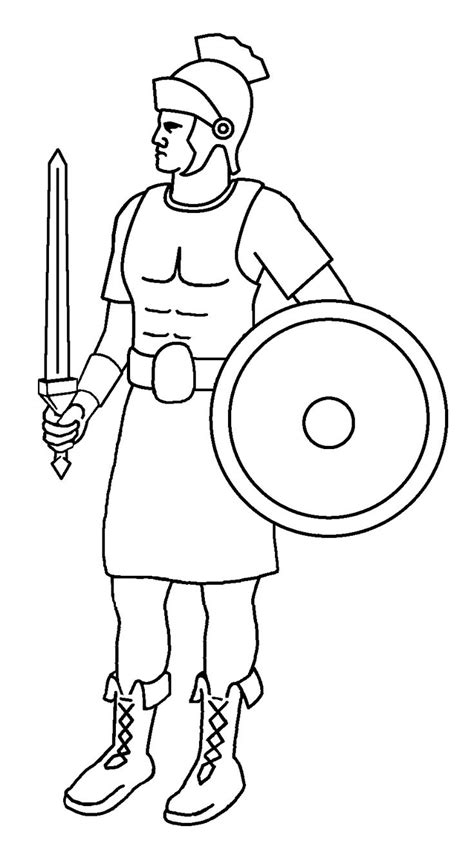 Soldier Drawing Outline by Soldier Outline Drawing Search Escuela Biblica Soldiers Drawings