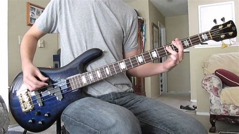comfortable liar chevelle comfortable liar bass cover youtube