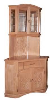 Kitchen Corner Hutch Cabinets by Kitchen Living Rm
