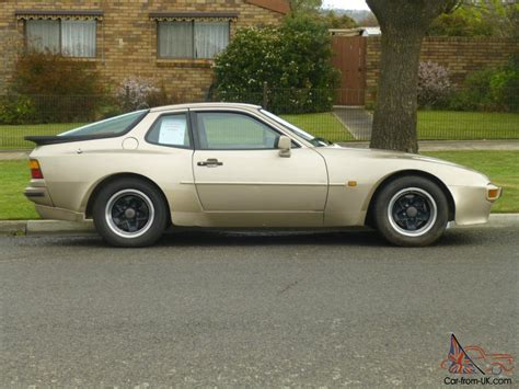 porsche 944 gold porsche 944 aug 1985 built 2d coupe 5 sp manual 2 5l multi