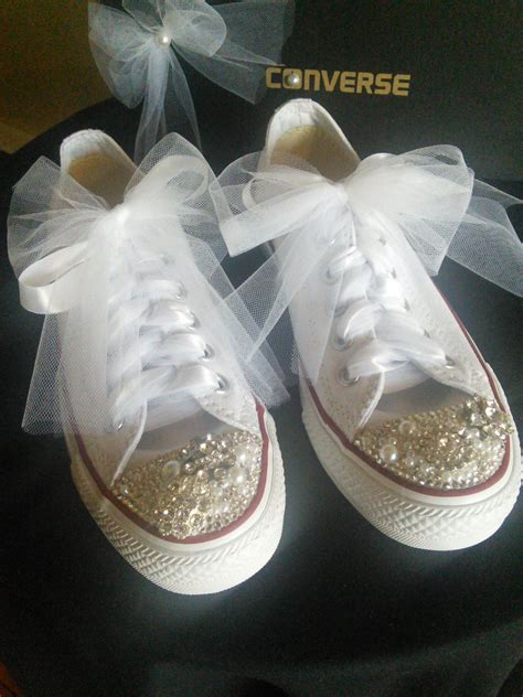 custom wedding sneakers wedding shoes bridal shoes prom shoes wedding by