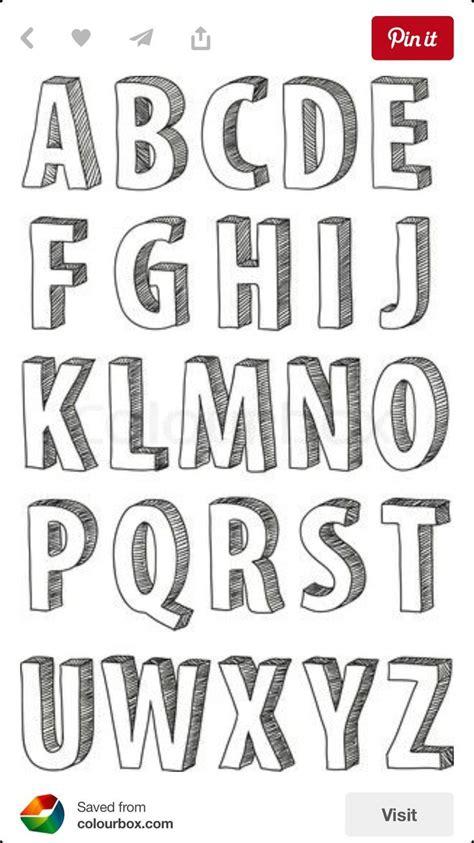 graffiti alphabet letters   caveman design lettering