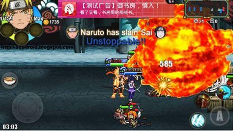 mod game android naruto game naruto senki mod apk untuk android