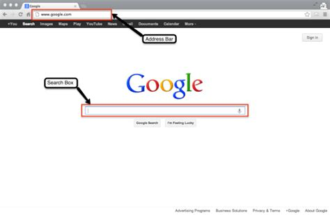 Search Goes To Address Bar Search Paradixm
