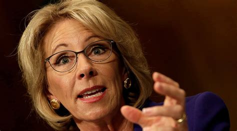 betsy devos latest us senate confirms betsy devos as secretary of education