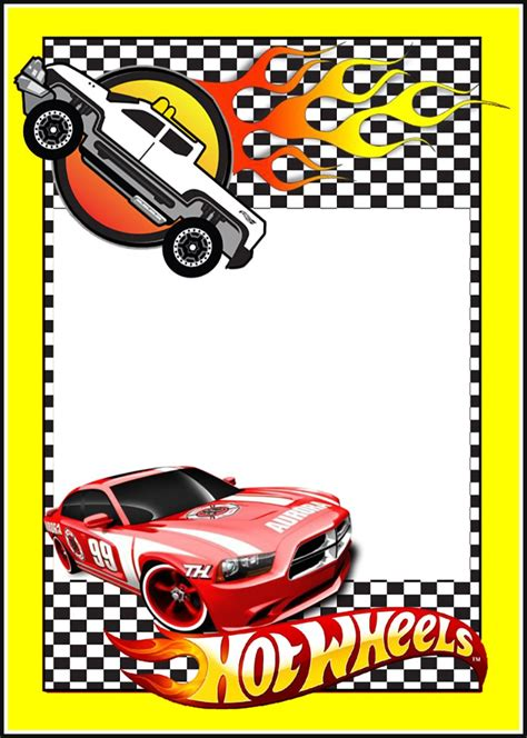 printable birthday cards hot wheels printable hot wheels invitation card invitations online