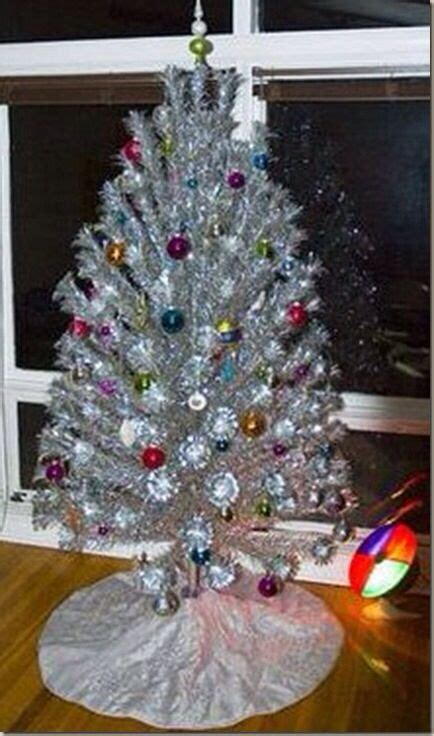 tinsel tree with color wherl 82 best tinsel tree images on decor time and trees