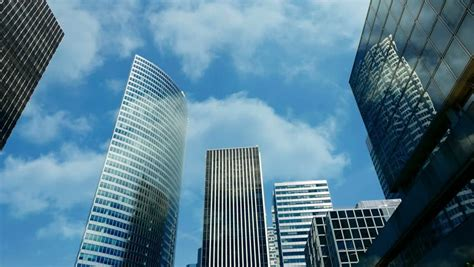 luxury business buildings glass construction stock