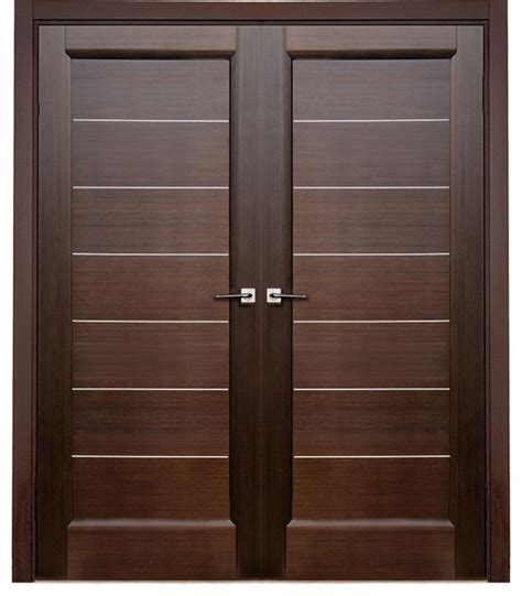 modern wood door solid wooden door