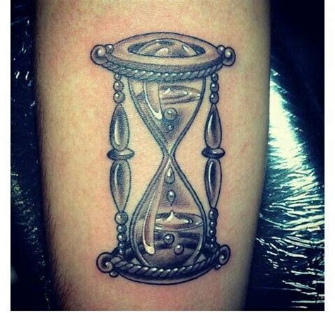 hour glass tattoo black and grey hourglass http ideas us
