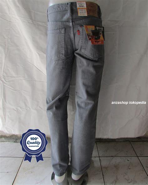Celana Denim Standar Regular Abu Abu 27 32 Co 1 jual celana branded levi s levis standar regular abu