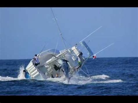 swordfish boat swordfish sinks fishing boat youtube