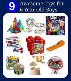 awesome toys for six year old boys