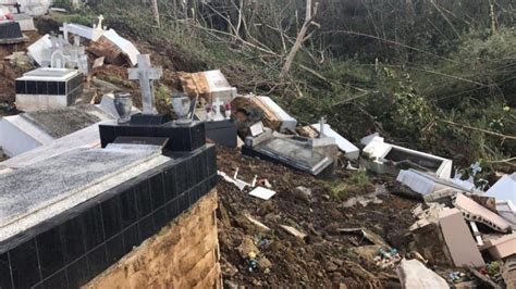 imagenes huracan maria pr fotos hurac 225 n mar 237 a desenterr 243 cientos de cad 225 veres en