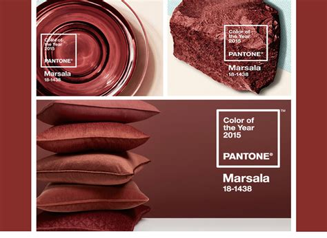 pantone color of the year 2015 marsala point of view