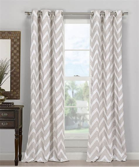 chevron gray and white curtains chevron curtains for the home pinterest gray