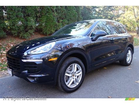 porsche blue metallic 2016 porsche cayenne in moonlight blue metallic a03907