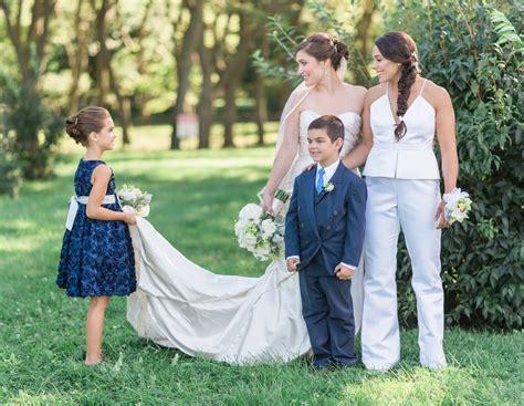 Yacht Wedding Attire by Yacht Wedding In Lake Michigan Equally Wed Lgbtq Weddings