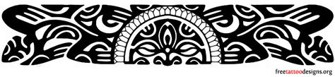 polynesian wristband tattoo designs armband tattoos tribal american and feminine designs