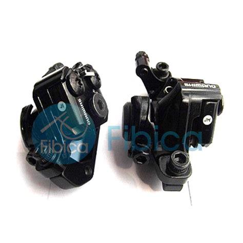Disc Brake Mekanik 160mm Hitam new shimano br m375 mechanical disc brake calipers set