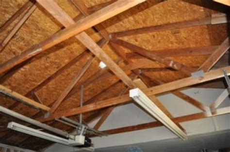 How To Put Up A Ceiling by Finishing Garage Need To Install Ceiling Around Existing