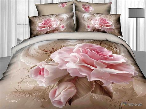 pink shabby chic bedding twin full size 3d pink rose flowers brown bedding shabby chic bedding luxury bedding