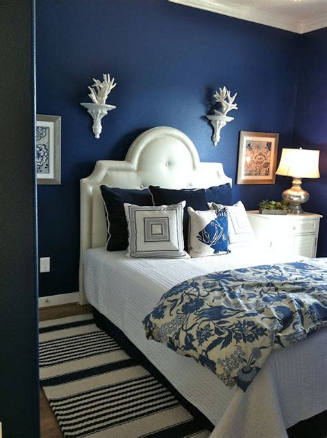 dark blue paint for bedroom best navy blue paint colors