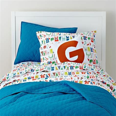 land of nod toddler bedding the land of nod kids bedding varsity sports themed kids